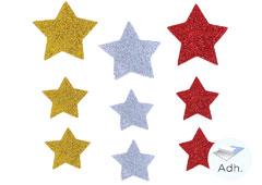 98612 Estrellas de goma eva adhesiva Innspiro