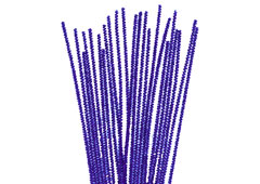 99073 Limpiapipas chenilla metalicas azul Innspiro