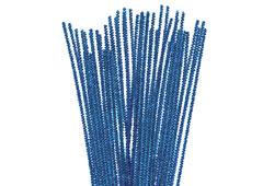 99083 Limpiapipas chenilla metalicas azul Innspiro