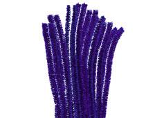 99093 Limpiapipas chenilla metalicas azul Innspiro