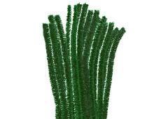 99094 Limpiapipas chenilla metalicas verde Innspiro