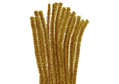 99096 Limpiapipas chenilla metalicas oro Innspiro