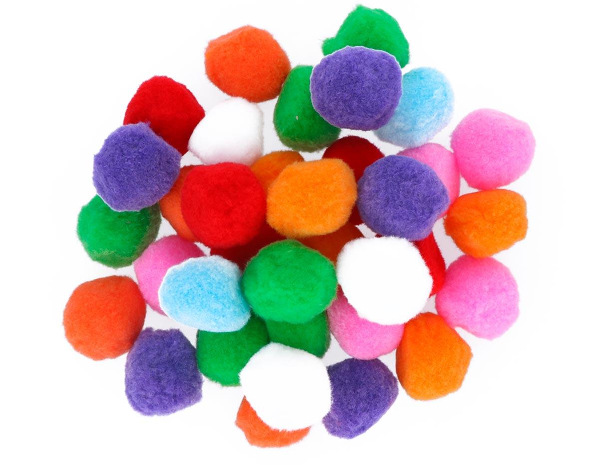 99400 Pompones polipropileno mix colores Innspiro