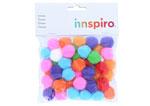 99410 Pompones polipropileno mix Innspiro - Ítem1