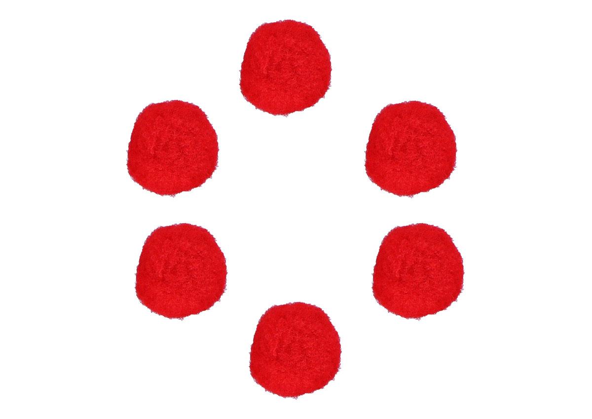 99415 Pompones polipropileno rojo Innspiro