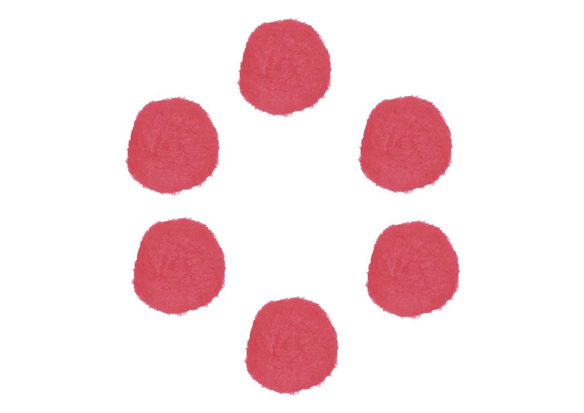 99419 Pompones polipropileno rosa Innspiro