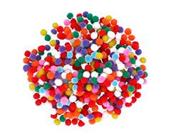 99430 Pompones polipropileno mix Innspiro