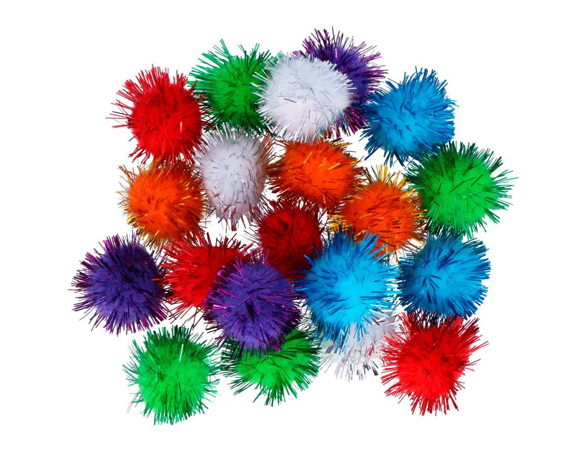 99460 Pompones brillantes mix Innspiro