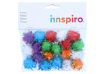 99460 Pompones brillantes mix Innspiro - Ítem1