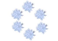 99461 Pompones brillantes blanco Innspiro