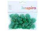 99464 Pompones brillantes verde Innspiro - Ítem1
