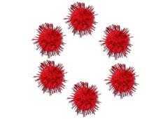 99465 Pompones brillantes rojo Innspiro