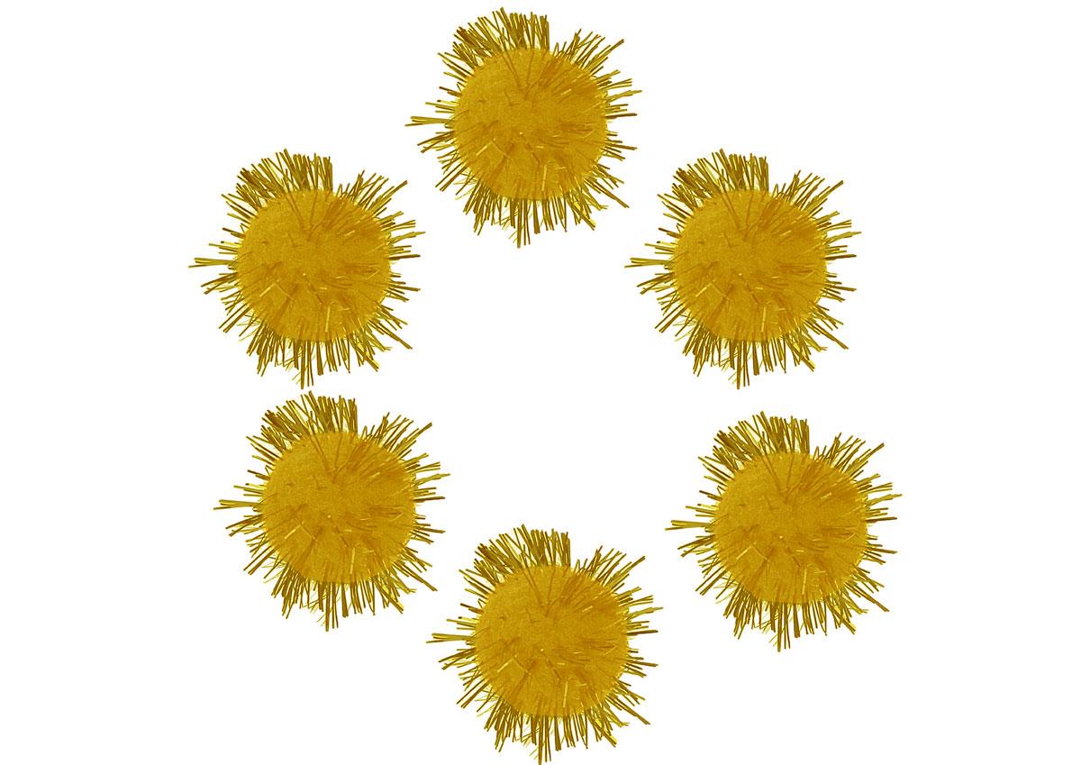 99466 Pompones brillantes amarillo Innspiro