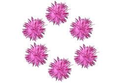 99469 Pompones brillantes rosa Innspiro