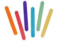 99540 Palos de polo jumbo madera mix colores Innspiro
