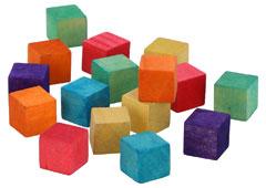 99580 Cubos madera colores Innspiro