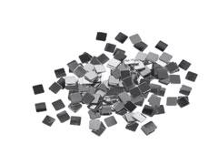 99710 Lentejuelas cuadrados plateadas Innspiro