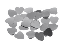 99715 Lentejuelas corazones plateadas Innspiro