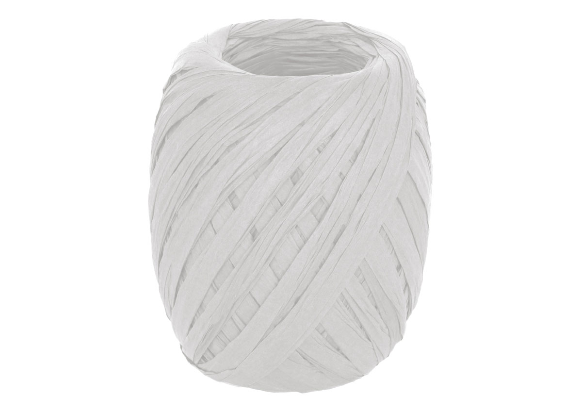 99811 Rafia de papel color blanco Innspiro