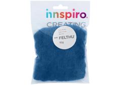 A1406 Fieltro de lana azul nautico Felthu