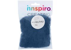 A1407 Fieltro de lana azul grisaceo Felthu