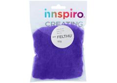 A1412 Fieltro de lana lila fuerte Felthu