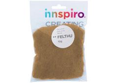 A1436 Fieltro de lana beige Felthu
