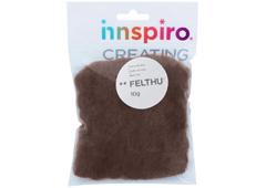 A1450 Fieltro de lana marron claro Felthu