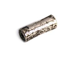 A150080 Z150080 Cuenta metalica zamak cilindro plateado envejecido Innspiro