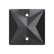 A3240-280-16 38 Piedras para coser de cristal Square 3240 jet hematite Swarovski Autorized Retailer