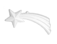 Z3517 A3517 Colgante estrella de Navidad de porex Innspiro