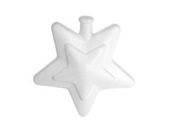 Z3538 A3538 Colgante estrella con relieve de porex Innspiro