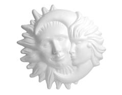 A3569 Sol y luna con relieve de porex Innspiro