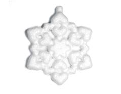 Z3643 A3643 Colgante copo de nieve de porex Innspiro