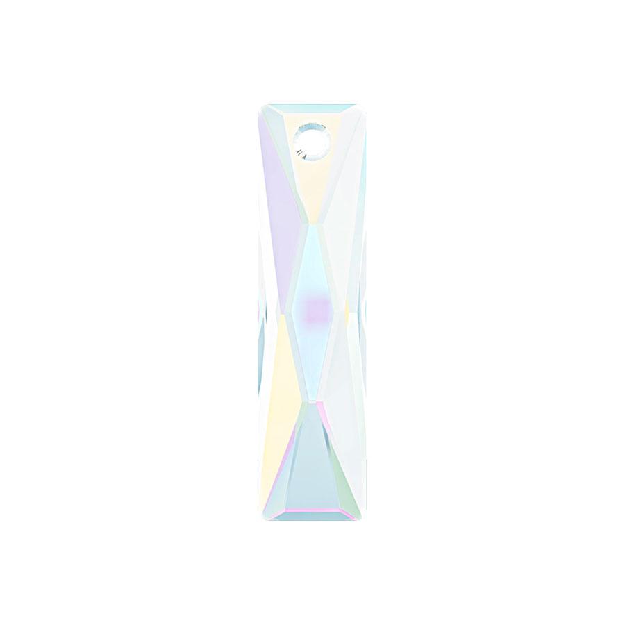 A6465-001-13X6 01 A6465-001-25X7 01 A6465-001-38X10 01 Colgantes de cristal Queen Baguette Pendant 6465 crystal aurora boreale AB Swarovski Autorized Retailer