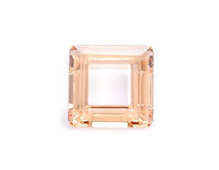 A4439-001-20 16 SW SQUARE RING CRYSTAL GOLDEN SHADOW 20mm NOVEDAD 2010 Swarovski Autorized Retailer