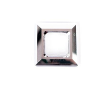 A4439-001-20 55 SW SQUARE RING CRYSTAL CAL V 20mm NOVEDAD 2010 Swarovski Autorized Retailer
