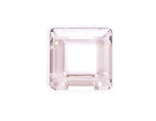 A4439-001-20 34 SW SQUARE RING CRYSTAL SILVER SHADE 20mm NOVEDAD 2010 Swarovski Autorized Retailer
