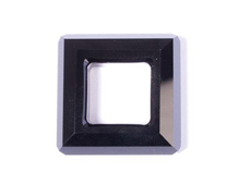 A4439-280-30 SW SQUARE RING JET 30mm NOVEDAD 2010 Swarovski Autorized Retailer