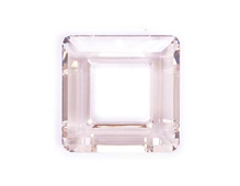 A4439-001-30 34 SW SQUARE RING CRYSTAL SILVER SHADE 30mm NOVEDAD 2010 Swarovski Autorized Retailer