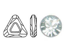 A4737-001-30 SW COSMIC TRIANGLE CRYSTAL 30mm NOVEDAD 2010 Swarovski Autorized Retailer