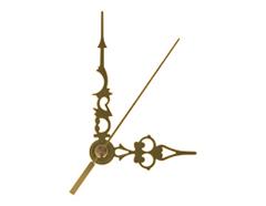 AL05048G AL05048G-1 Kit manecillas reloj aluminio dorado 76 y 52mm Innspiro
