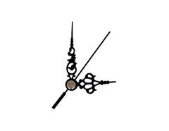 AL9101B AL9101B-1 Kit manecillas reloj aluminio negras 51 y 35mm Innspiro