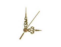 AL9101G AL9101G-1 Kit manecillas reloj aluminio doradas 51 y 35mm Innspiro