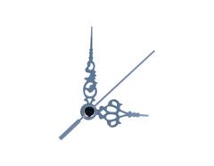 AL9101S AL9101S-1 Kit manecillas reloj aluminio plateadas 51 y 35mm Innspiro