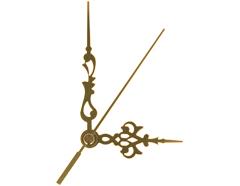 AL9301G AL9301G-1 Kit manecillas reloj aluminio dorado 86 y 60mm Innspiro