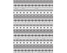 CG612 25TH PINE- SNOWFLAKE BORDERS BACKGROUND -STAMP- Hero arts