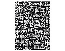 CG635 HIGHLINE HERO ARTS - CLING STAMP - CHALKBOARD BACKGROUND Hero arts