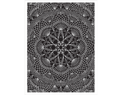 CG668 Sello de caucho Doily Pattern Hero arts
