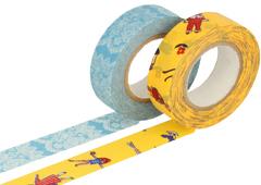 CL26337-01 Set 2 cintas adhesivas masking tape washi surtido disenos A Classiky s